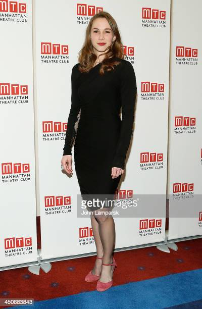 Kristen Bush attends the Taking Care Of Baby Opening Night at New York City Center on November 19 2013 in New York City