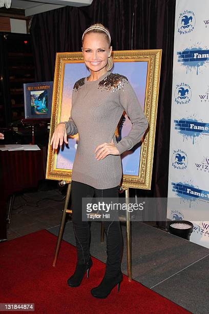 Kristen Chenoweth attends a portrait unveiling on FameWall NYC at Trattoria Dopo Teatro on November 21 2010 in New York City