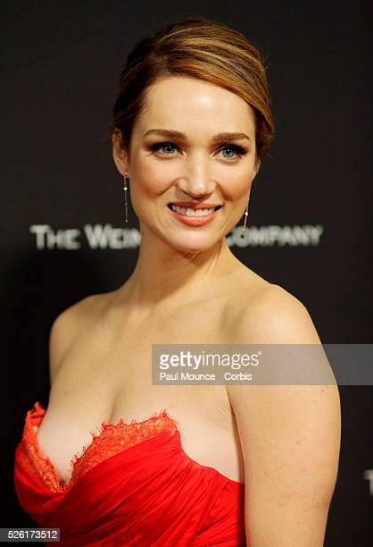 Kristen Connolly arrives at the Weinstein Company Golden Globes AfterParty