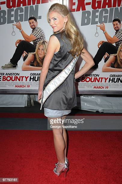 Kristen Dalton attends the premiere of The Bounty Hunter at Ziegfeld Theatre on March 16 2010 in New York New York City