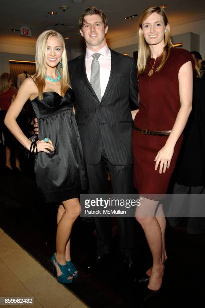 Kristen Dalton Matthew Reeve and Alexandra Reeve Givens attend FACONNABLE VANITY FAIR Shopping Night for the Christopher Reeve Dana Reeve Foundation...