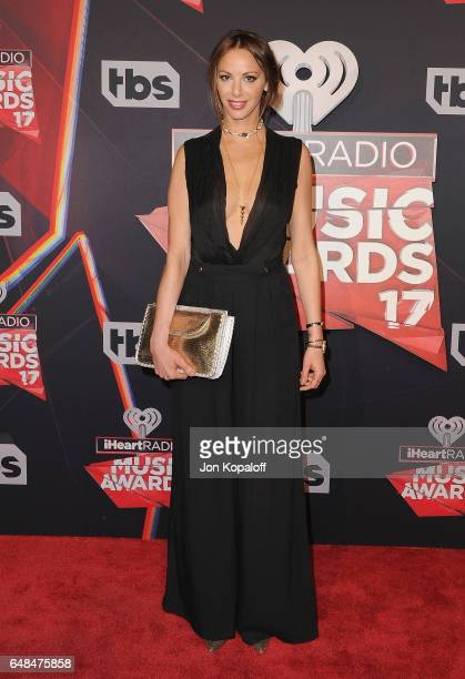 Kristen Doute arrives at the 2017 iHeartRadio Music Awards at The Forum on March 5 2017 in Inglewood California