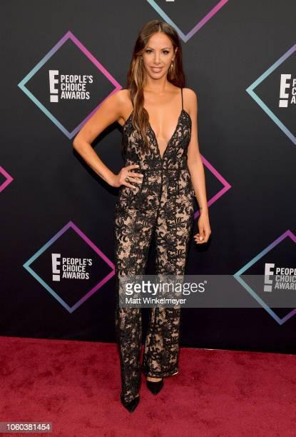 Kristen Doute attends the People's Choice Awards 2018 at Barker Hangar on November 11 2018 in Santa Monica California
