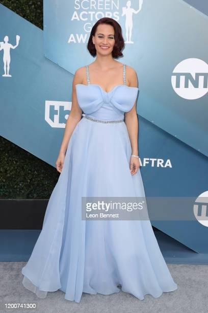 Kristen Gutoskie attends 26th Annual Screen Actors Guild Awards at The Shrine Auditorium on January 19 2020 in Los Angeles California
