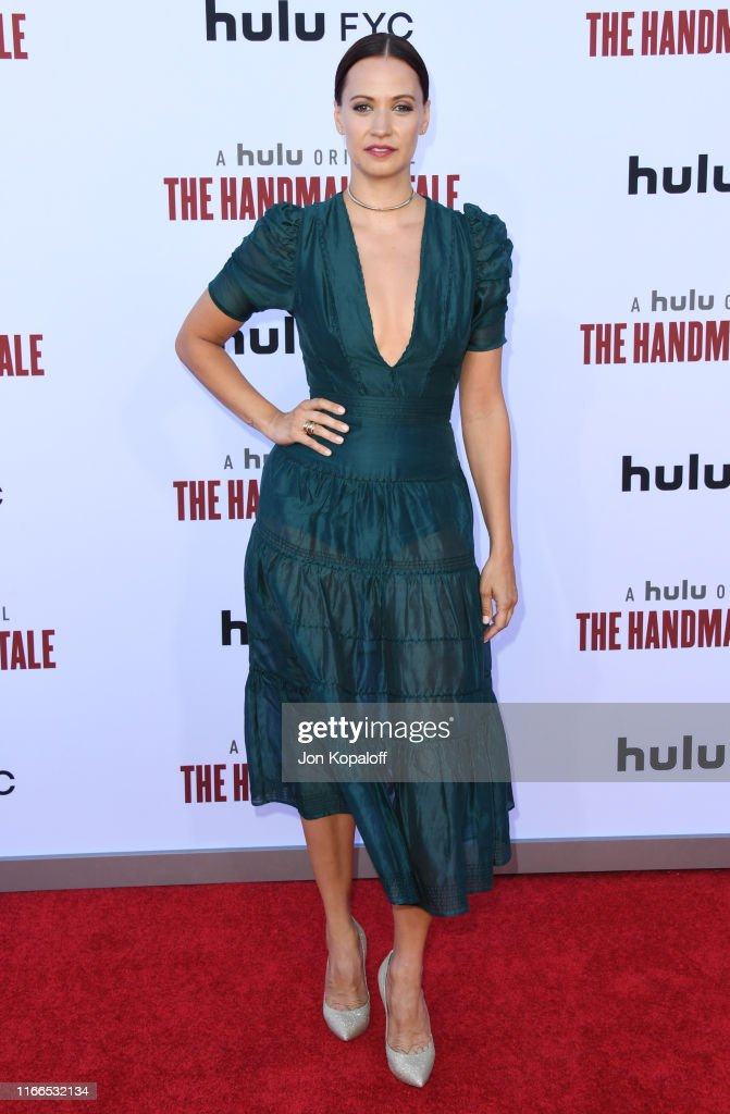 "Hulu's ""The Handmaid's Tale"" Celebrates Season 3 Finale - Arrivals : News Photo"