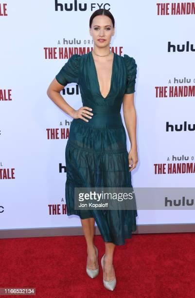 Kristen Gutoskie attends Hulu's The Handmaid's Tale Celebrates Season 3 Finale at Regency Village Theatre on August 06 2019 in Westwood California