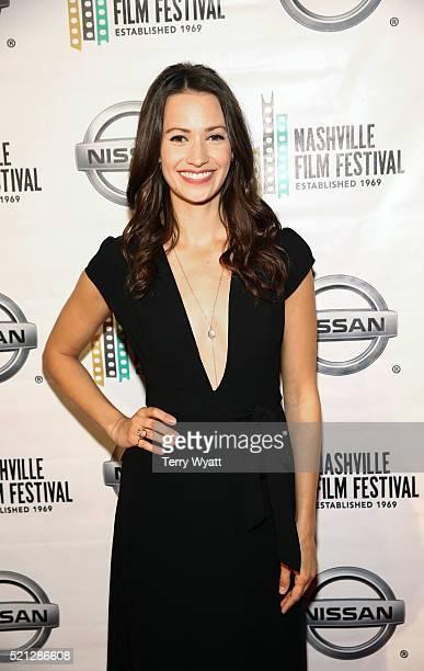 Kristen Gutoskie attends the 2016 Nashville Film Festival premiere at Regal Green Hills on April 14 2016 in Nashville Tennessee
