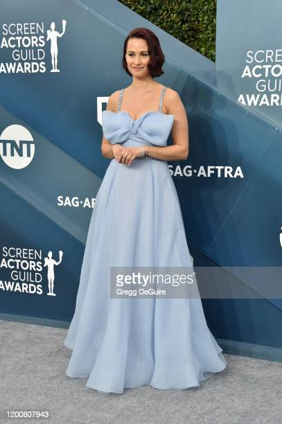 Kristen Gutoskie attends the 26th Annual Screen ActorsGuild Awards at The Shrine Auditorium on January 19 2020 in Los Angeles California 721430