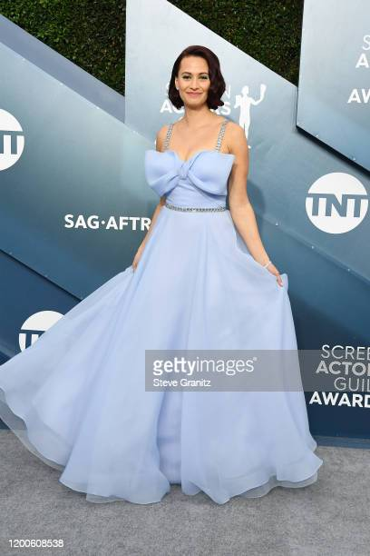 Kristen Gutoskie attends the 26th Annual Screen ActorsGuild Awards at The Shrine Auditorium on January 19 2020 in Los Angeles California