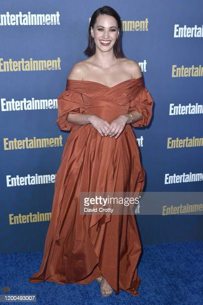 Kristen Gutoskie attends the Entertainment Weekly Honors Screen Actors Guild Awards Nominees Presented In Partnership With SAG Awards at Chateau...