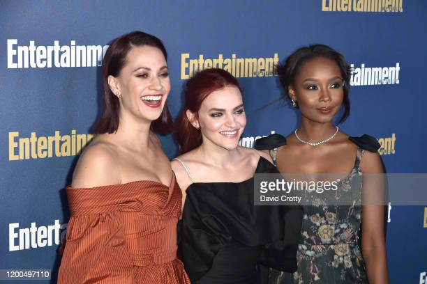 Kristen Gutoskie Madeline Brewer and Ashleigh LaThrop attend the Entertainment Weekly Honors Screen Actors Guild Awards Nominees Presented In...