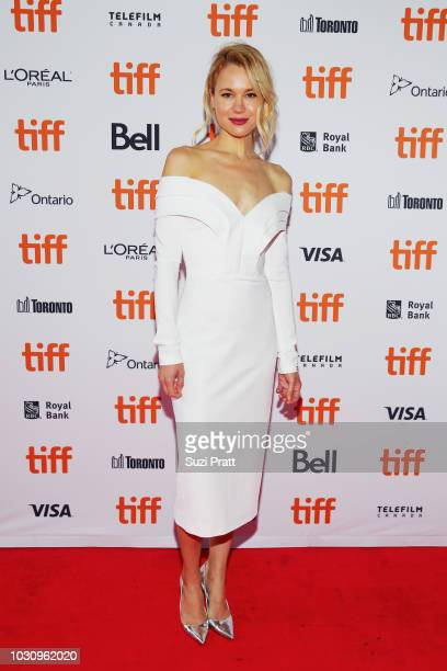 Kristen Hager attends the 'Clara' premiere during 2018 Toronto International Film Festival at Ryerson Theatre on September 10 2018 in Toronto Canada