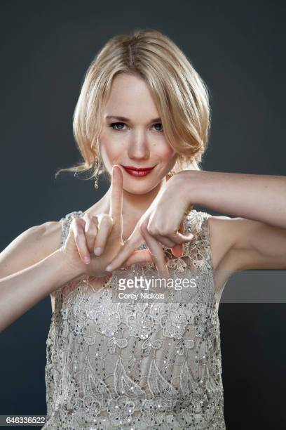 Kristen Hager is photographed for Self Assignment on May 8 2012 in Los Angeles California