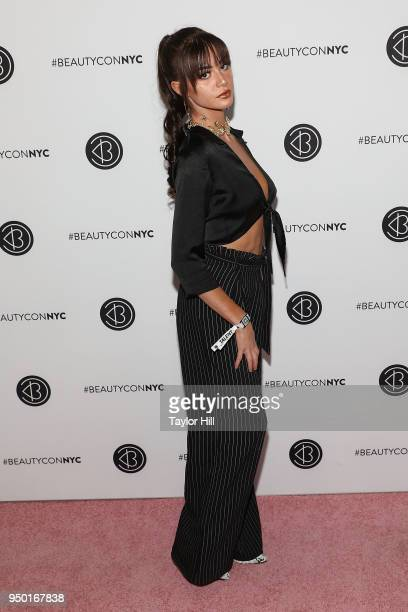 Kristen Hancher attends the 2018 Beautycon NYC at The Jacob K Javits Convention Center on April 22 2018 in New York City