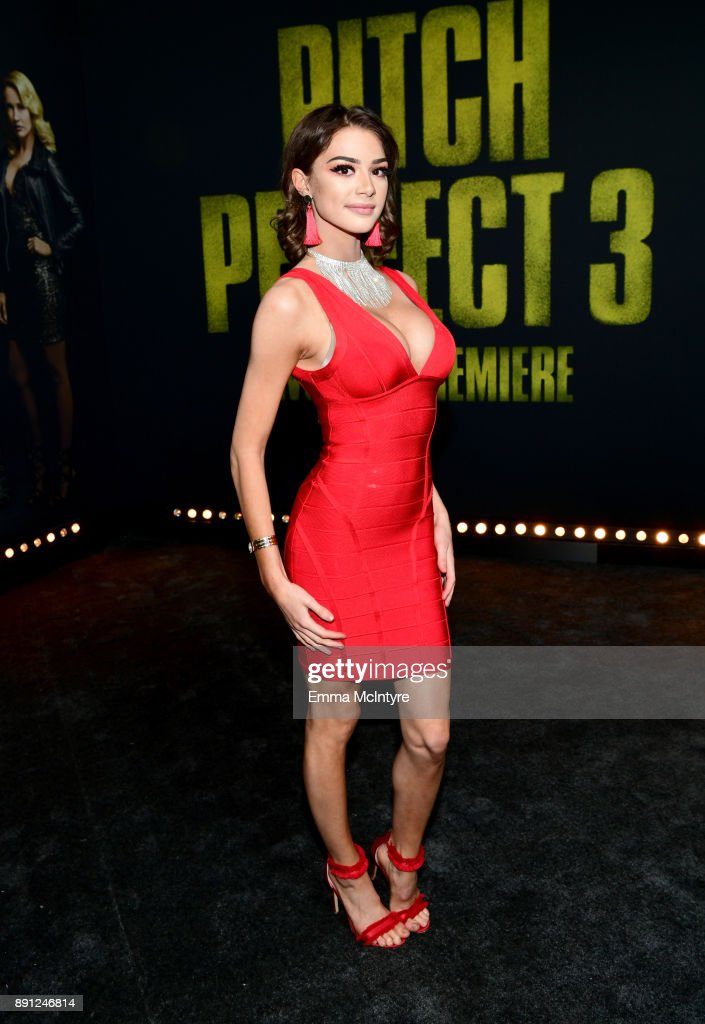 "Premiere Of Universal Pictures' ""Pitch Perfect 3"" - Red Carpet"