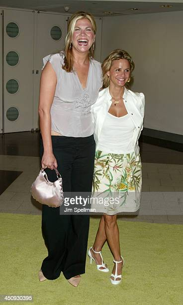 Kristen Johnston and Amy Sedaris during Sex and the City Sixth Season Premiere at American Museum of Natural History in New York City New York United...