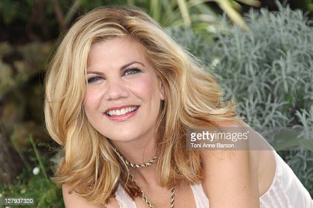 Kristen Johnston attends The Exes photocall as part of MIPCOM 2011 at Hotel Majestic on October 3 2011 in Cannes France