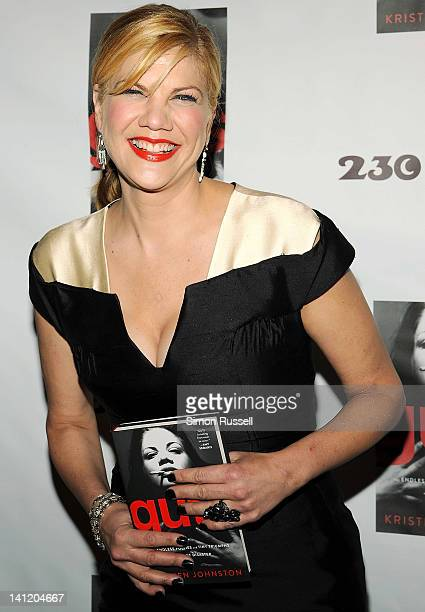 Kristen Johnston attends the Guts memoir release party at 230 Fifth Avenue on March 12 2012 in New York City