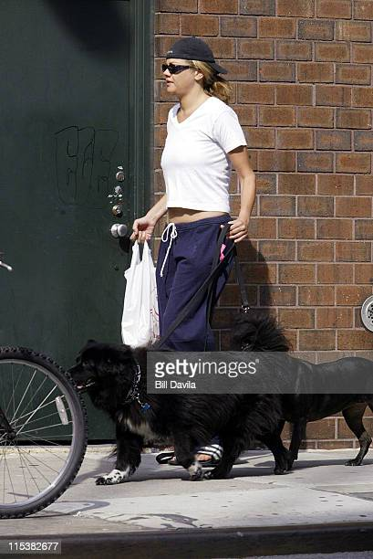 Kristen Johnston during Kristen Johnston Out and About at New York City in New York City New York United States