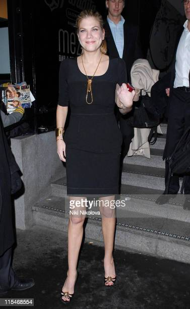 Kristen Johnston during Music And Lyrics London Premiere After Party at Floridita in London Great Britain