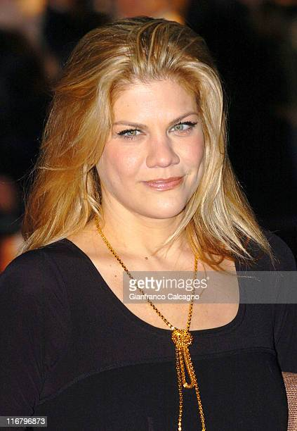 Kristen Johnston during Music and Lyrics London Premiere at Odeon Leicester Square WC2 in London Great Britain