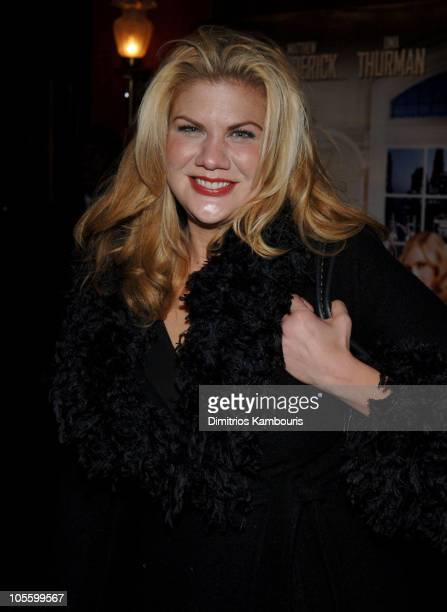 Kristen Johnston during The Producers New York City Premiere Inside Arrivals at Ziegfeld Theatre in New York City New York United States