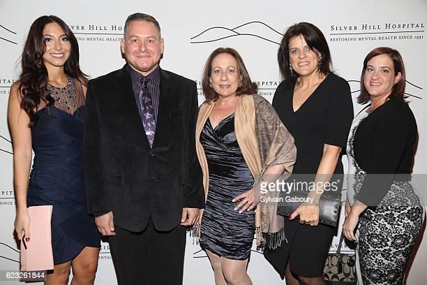 Kristen Leopoldi William Elliott Nancy Greene Debora Moran and Sarah Bennetta attend Silver Hill Hospital 2016 Giving Hope Gala at Cipriani 42nd...