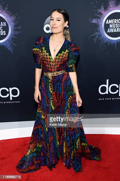Kristen McAtee attends the 2019 American Music Awards at Microsoft Theater on November 24 2019 in Los Angeles California