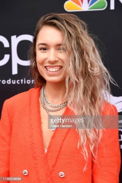Kristen McAtee attends the 2019 Billboard Music Awards at MGM Grand Garden Arena on May 01 2019 in Las Vegas Nevada
