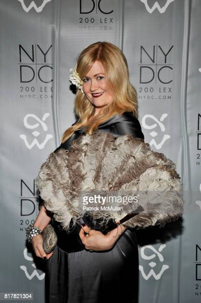 Kristen McGinnis attends The NEW YORK DESIGN CENTER Fifth Annual Masquerade Ball Benefiting the ALPHA WORKSHOPS at New York Design Center on October...