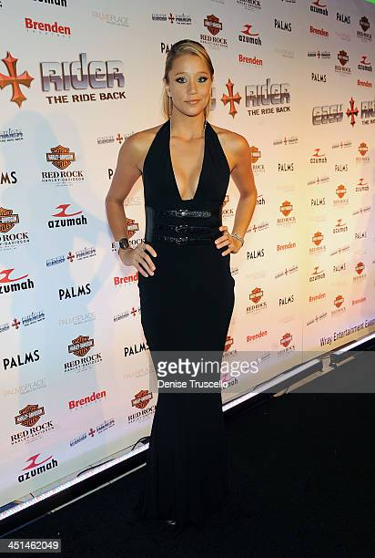 Kristen Renton arrives at the sneak peek of Easy Rider The Ride Back at Brenden Theaters at The Palms Casino Resort on October 1 2009 in Las Vegas...
