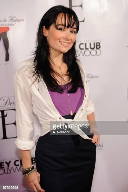 Kristen Ruhlin attends LA Rocks Fashion Week Lauren Elaine Fall 2010 Black Label at the Key Club on March 22 2010 in West Hollywood California