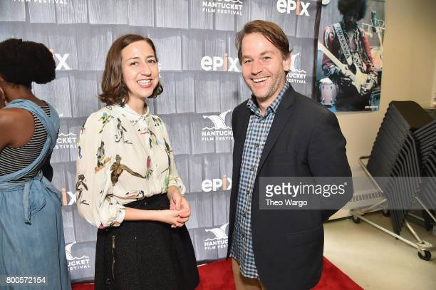 Kristen Schaal and Mike Birbiglia attend the AllStar Comedy Roundtable during the 2017 Nantucket Film Festival Day 4 on June 24 2017 in Nantucket...