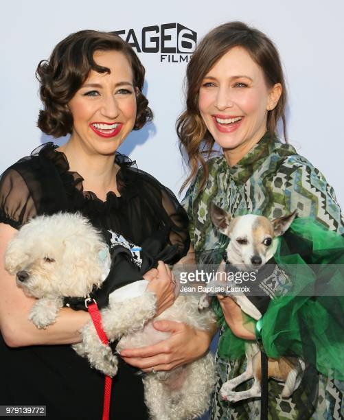 Kristen Schaal and Vera Fermiga attend the Premiere Of Sony Pictures Classics' 'Boundaries' at American Cinematheque's Egyptian Theatre on June 19...
