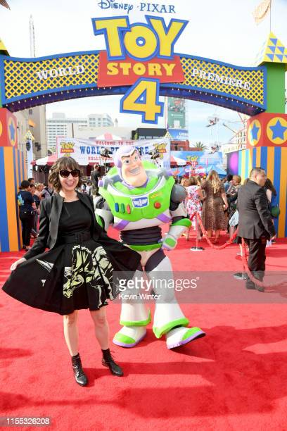 Kristen Schaal attends the premiere of Disney and Pixar's Toy Story 4 on June 11 2019 in Los Angeles California