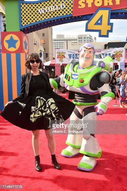 Kristen Schaal attends the world premiere of Disney and Pixar's TOY STORY 4 at the El Capitan Theatre in Hollywood CA on Tuesday June 11 2019