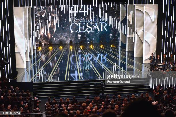 Kristen Scott Thomas onstage during the Cesar Film Awards 2019 at Salle Pleyel on February 22 2019 in Paris France