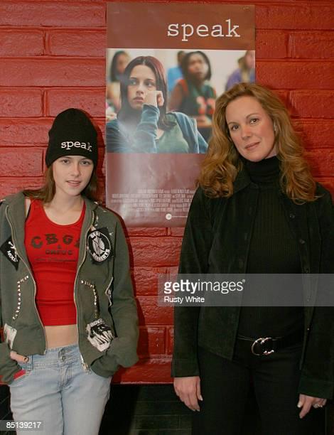 Kristen Stewart and Elizabeth Perkins
