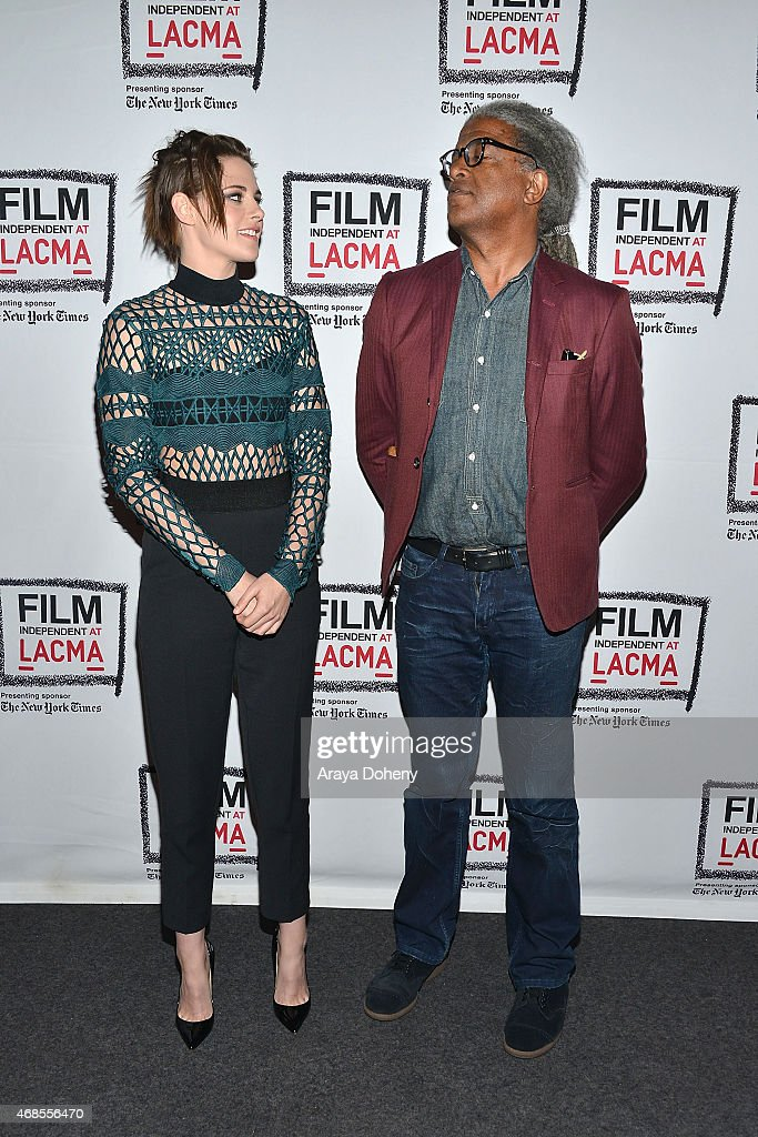 """Film Independent At LACMA Screening And Q&A Of """"Clouds Of Sils Maria"""" : News Photo"""