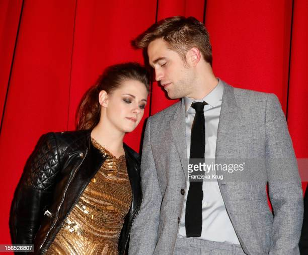 Entertainment Online Subscriptions GLR Included Kristen Stewart and Robert Pattinson attend the 'Twilight Saga Breaking Dawn Part 2' Germany Premiere...