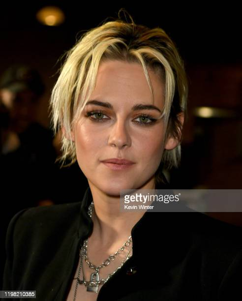 Kristen Stewart arrives at a special fan screening of 20th Century Fox's Underwater at Alamo Drafthouse Cinema on January 07 2020 in Los Angeles...