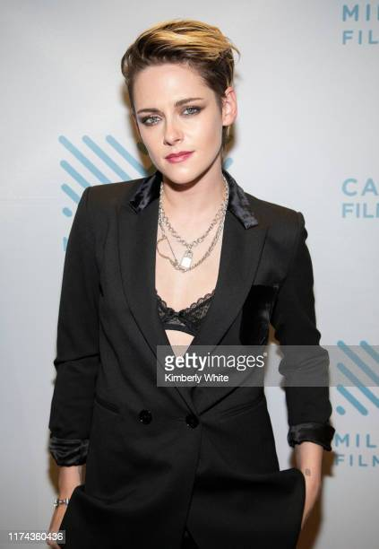 Kristen Stewart arrives at the 42nd Mill Valley Film Festival at Christopher B Smith Rafael Film Center on October 7 2019 in San Rafael California