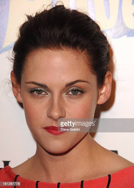 Kristen Stewart arrives at the Los Angeles premiere of 'Adventureland' at the Mann Chinese 6 Theater on March 16 2009 in Hollywood California