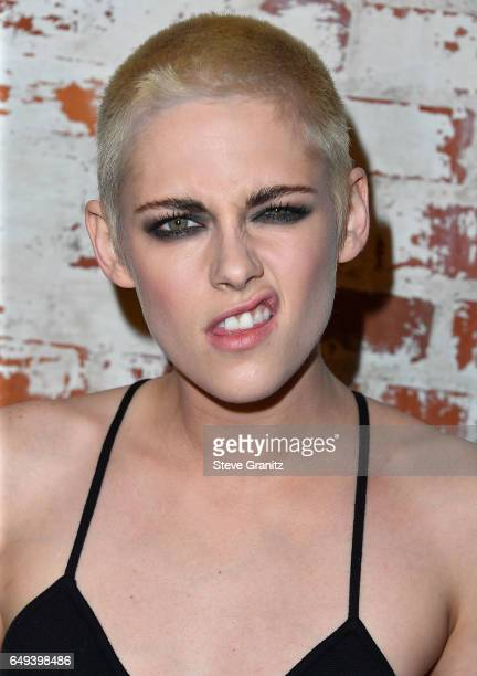 Kristen Stewart arrives at the Premiere Of IFC Films' Personal Shopper at The Carondelet House on March 7 2017 in Los Angeles California