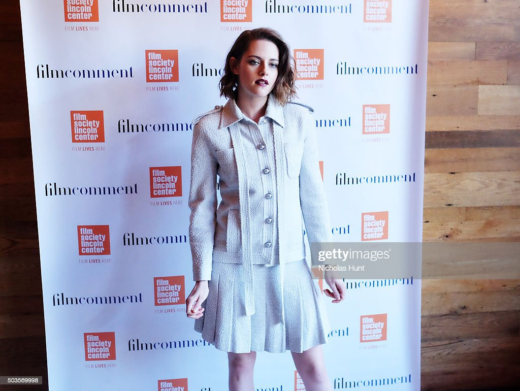 Kristen Stewart attend the 2016 Film Society Of Lincoln Center Luncheon at Scarpetta on January 5, 2016 in New York City.