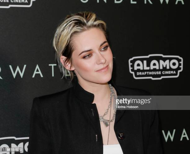 Kristen Stewart attends a special fan screening of 20th Century Fox's Underwater at Alamo Drafthouse Cinema on January 07 2020 in Los Angeles...