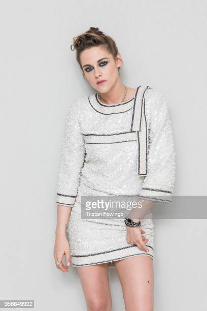Kristen Stewart attends at Albane by Costes, JW Marriott Rooftop on May 9, 2018 in Cannes, France.