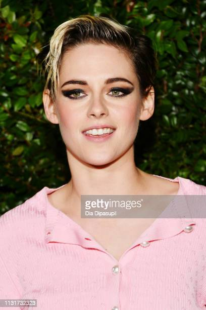 Kristen Stewart attends Chanel And Charles Finch Pre-Oscar Awards Dinner At The Polo Lounge in Beverly Hills on February 23, 2019 in Beverly Hills,...