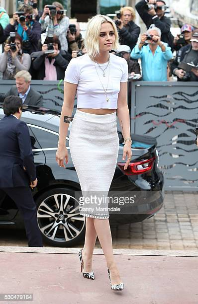Kristen Stewart attends day 1 of The 69th Annual Cannes Film Festival on May 11 2016 in Cannes