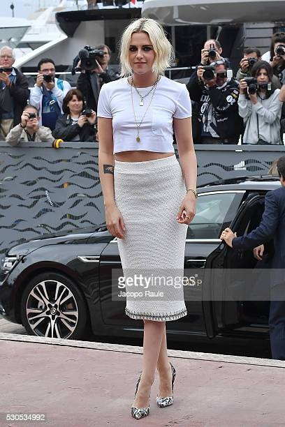 Kristen Stewart attends day 1 of the annual 69th Cannes Film Festival at on May 11 2016 in Cannes France